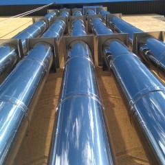 Монтаж дымоходов для газовых котлов